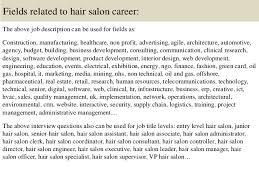 16 salon manager description