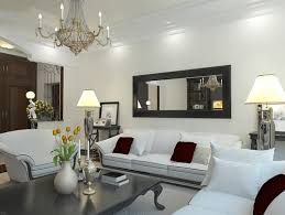 mirrors living room