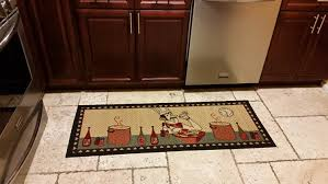 Washable Runner Rugs Kitchen Runner Rugs Floral Garden Design Modern Area Rug With Non Skid