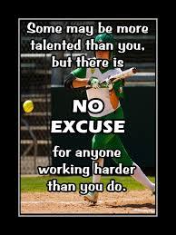 Inspirational Softball Quote Poster Motivation Photo Wall Decor Wall Art Gift Home Decor Kids Baseball 5x7 11x14 Free Ship