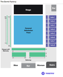 Bomb Factory Seating Chart Scandal