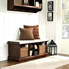 Hallway Storage Bench With Coat Rack Storage Bench Hallway Bench Coat Rack Combo Throughout Hallway Seat 69