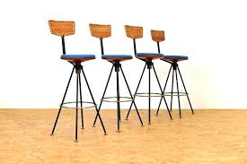black rattan bar stools garden bar stool rattan bar stool vintage rattan bar stools ideas black