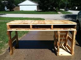 pallet furniture desk. pallet wood computer desk furniture