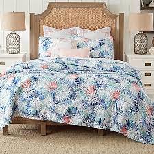 Coastal Bedding - Bed Bath & Beyond & image of Coastal Living® Coastal Palm Reversible Mini Quilt Set Adamdwight.com