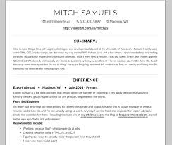 make an awesome resume