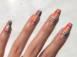 Chanel Nail Design From Chanel To Gucci Brand Logo Nail Art Is The Latest