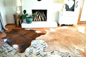 cow rug animal cowhide hide rugs skin for intended beautiful faux sheepskin cleaning rugged print