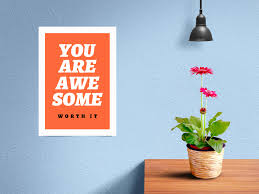Including multiple different angles and views with clean empty space to add your free poster mockups. Free Wall Frame Poster Mockup Psd Good Mockups