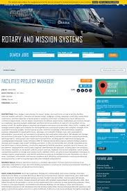 Facilities Project Manager Job At Lockheed Martin In Orlando