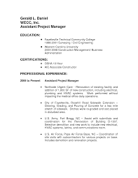 cover letter example project manager duties responsibilities cover letter remarkable manager sample resume duties project law assistant project manager job description