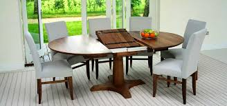 circa ii oval walnut extending dining table and chairs