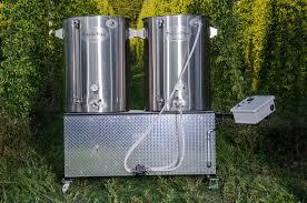 psycho 100 2 5bbl 2 burner pilot brewing system 0