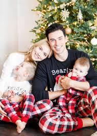 Family Christmas Photo Family Holiday Pajamas Sheridan Gregory