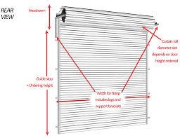 Standard Roller Shutter Garage Door Sizes