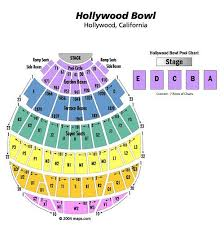 Hollywood Seating Chart Hollywood Bowl Seating Chart Rockyrorocky Flickr