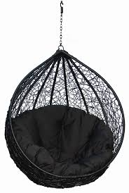 hanging chairs for your inspiration fancy black eclipse hanging egg chair combine with black fabric hanging