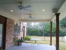 image of harbor breeze black outdoor ceiling fan