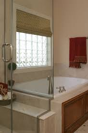 glass block bathroom window