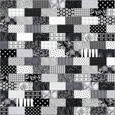 Black And White Quilt Patterns Best Modern Quilts Patterns Black And White Night Quilt Quilt Patterns