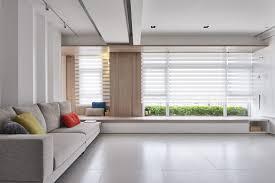 white tile floor Interior Design Ideas