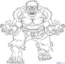 Small Picture Coloring Pages The Incredible Hulk Coloring Pages Super Heroes