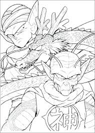 Coloring Dragon Ball Z Kids N Coloring Pages Of Dragon Ball Z Dragon