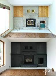 phantasy painted brick fireplace makeover painted brick fireplace makeover fireplace design ideas in makeover brick fireplace