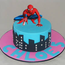 Girls Spiderman Cake My Cake Place