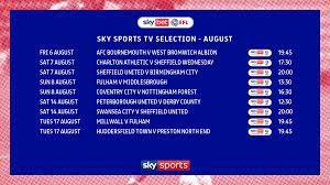 august tv selections confirmed news