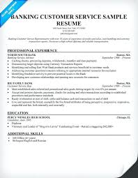bank sample resume bank great bank customer service representative resume sample free