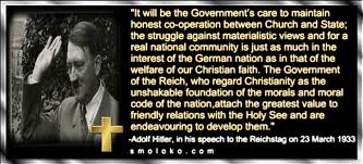 Hitler Christianity Quotes Best of Adolf Hitler And Christianity Esau Today