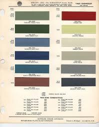 1960 Chevrolet Paint Chips Xframechevy Com