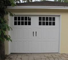 garage doors with windows modern