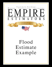 estimate samples xactimate estimate examples