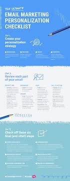 Email Design Checklist The Ultimate Email Marketing Personalization Checklist