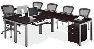 l shaped desk for two people. Beautiful Shaped 144u0026quot 2 Person L Shaped Table Desk Throughout For Two People E