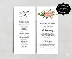 Wedding Program Designs Wedding Program Designs Wedding Program Designs Savebtsaco Gratulfata