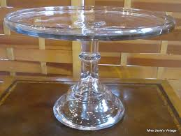 clear glass cake stand designs