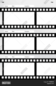 Vertical Storyboard Storyboard Film Template Vertical Vector Photo Bigstock 13
