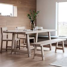 contemporary wooden dining table. waldorf contemporary dining table, oak. \u2039 wooden table