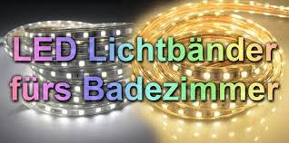Led Lichtband Mit Ip65 Oder Ip67 Für Garten Grillecke Dusche Wanne