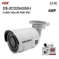 In lager DS 2CD2043G0 I Original Hik 4MP Kugel Kamera H.265 + IP67 ersetzen  DS 2CD2042WD I heißer verkauf IP kamera IR 30m 3 achse|Überwachungskameras