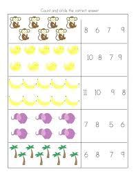 Cut And Paste Worksheets For Arten Free K Math Worksheet Addition ...