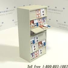Display Binders With Stand Library Resource Display Angling Shelves Storing Product Design 100