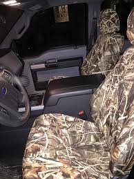 realtree seat covers front