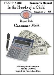 Consumer Math Curriculum-Teachers and Homeschool parents love our ...