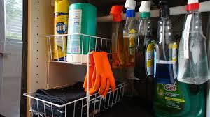 under sink organizer kitchen