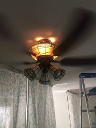 How To Replace Light Bulb In Hampton Bay Ceiling Fan Accessing Light Bulbs On Ceiling Fan Home Improvement