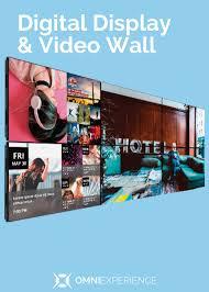 Custom Design Marketplace Digital Display Video Wall Omniexperience Kiosk